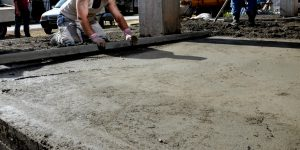 This is a picture of a San Antonio, TX driveway paving services.