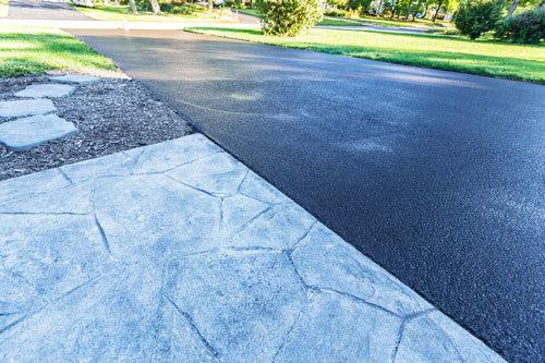 freshly-paved-blacktop-driveway